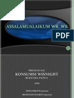Presentasi Mak Papua Wisnight