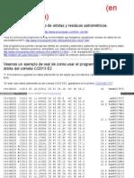 Cometas Sytes Net Findorb Findorb HTML