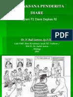 Tatalaksana Penderita Diare Program Depkes RI