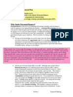 Overview of the Financial Plan