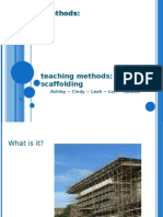 Teaching Methods Scaffolding
