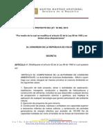 Proyecto Ley Snsmica Licencias Ambientales (1)