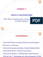 Chapter 3 Optical Transmitters (10!12!12)1