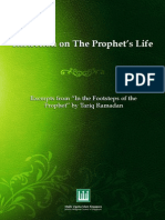 Reflection on the Prophets Life