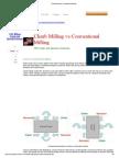 Climb Milling vs Conventional Milling