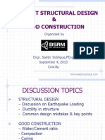 Efficient structural design and good construction.ppt