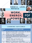 Chapter 06 Work, Energy, Power