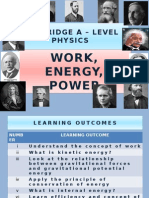 Chapter 06 Work, Energy, Power