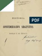 Adolfo Saldias - Historia de la Confederacion Argentina III