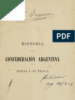 Adolfo Saldias - Historia de la Confederacion Argentina I