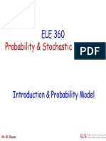Set 1 - Introduction & Probability Model
