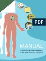 Manual de Registro e Cadast de Materiais de Uso Em Saude