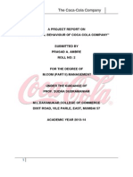 37483762 Organizational Structure of the Coca Cola Company