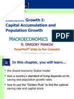 Macroeconomics - Mankew - Chapter 7 - Economic Growth (1)