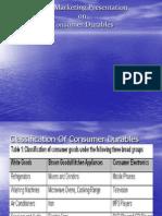 Sales Presentation - Consumer Durables