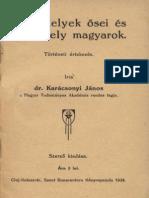 A Szekelyek Osei Es a Szekely Magyarok