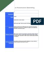 Science_Presentation Debriefing Forms Complete