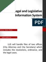 legal and legislative information system
