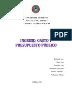 59572719 Trabajo Ingreso y Gasto Publico Finanzas