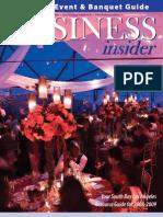 Business Insider Magazine - Meeting Event & Banquet Guide 2008-2009