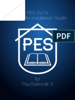 PESianity PES 2014 Option File Installation Guide for PS3