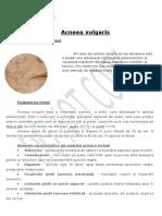 referat biologie acneea