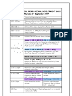 Inset Days Programme Sept 09 Final