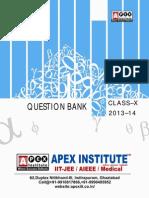 Mathematics Question Bank Class x for Summative Assessment-II 2014