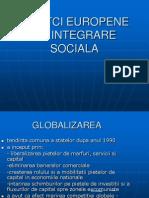Politci Europene de Integrare Sociala