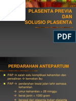 Plasenta Previa & Sol Plasenta