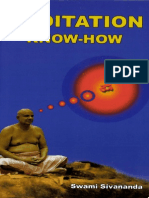 Meditation Know-How. Sri Swami Sivananda 271p_8170522242