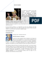 Catequesis Sobre Los Padres de La Iglesia