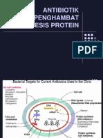 7. Antibiotik Penghambat Sintesis Protein