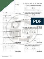 Soal - Soal Barisan & Deret - Paket 1