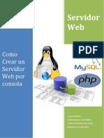 Servidor Web Consola