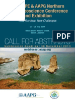 2014 LIPE AAPG Call for Abstracts Brochure