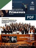 Docs_programas_xviii Temporada de Grandes Conciertos de Primavera 2012 4-1-2012