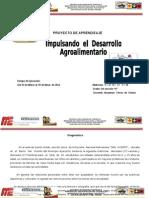 P.a. Impulsando El Desarrollo Agroalimentario