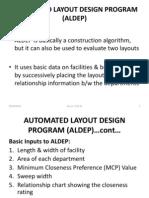 aldep automated layout design program