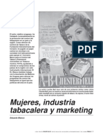 Mujeres, Industria Tabacalera y Marketing