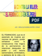 EXPOSICION FEMINICIDIO