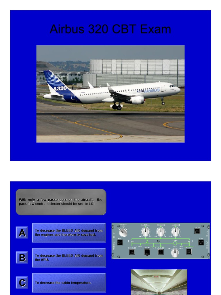 Airbus A320 Technical Questions   Valve   Electric Generator