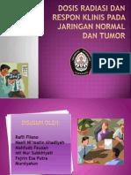 Dosis Radiasi Dan Respon Klinis Pada Jaringan Normal