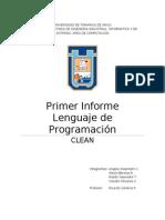 Primer Informe