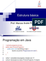 Java - Parte 2 - Estrutura Básica