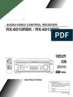 JVC RX-6010R & 6012R