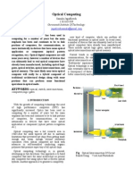 Optical Computing-abstract Ieee format