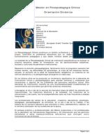 Master Psicopedagogia Clinica Orientacion Dinamica