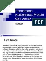 Kuliah Biokimia-Pencernaan KH, Protein Dan Lemak