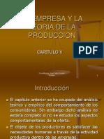 La Empresa y La Teoria de La Produccion